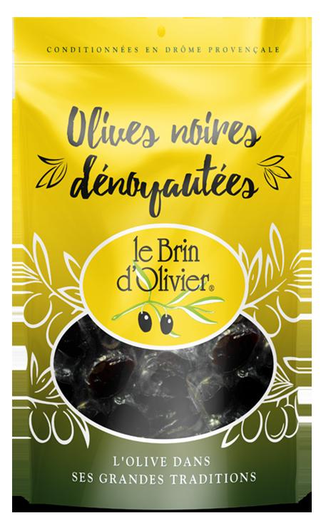 Olives noires dénoyautées - Le Brin d'Olivier