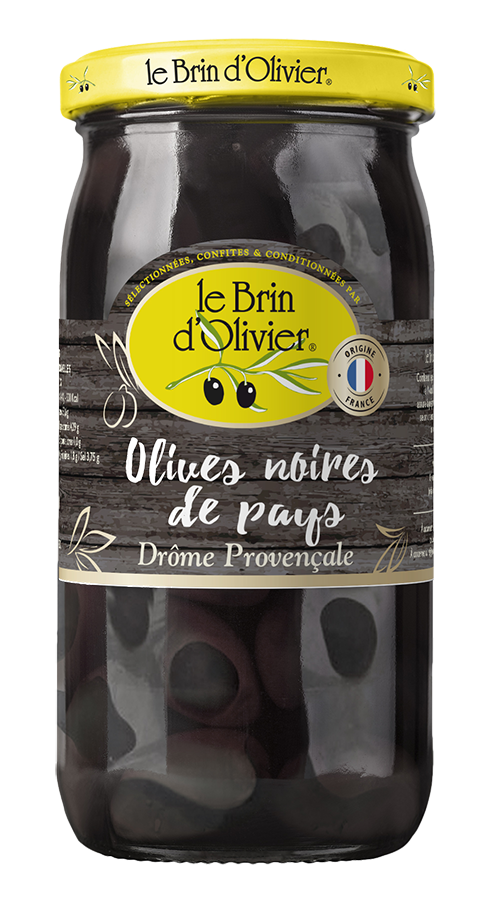 Olives noires de pays - Le Brin d'Olivier