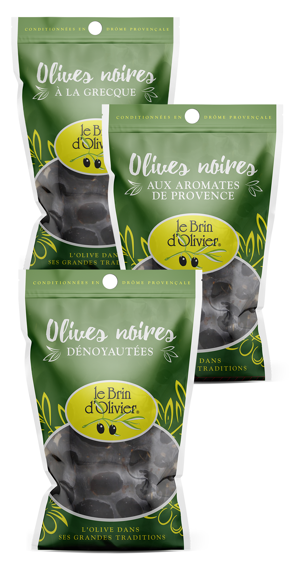 Olives noires de Nyons - Le Brin d'Olivier