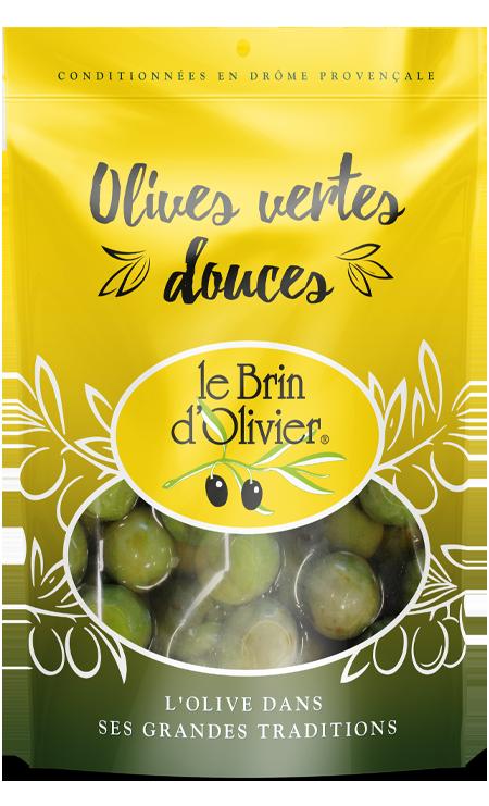 Olives vertes douces - Le Brin d'Olivier